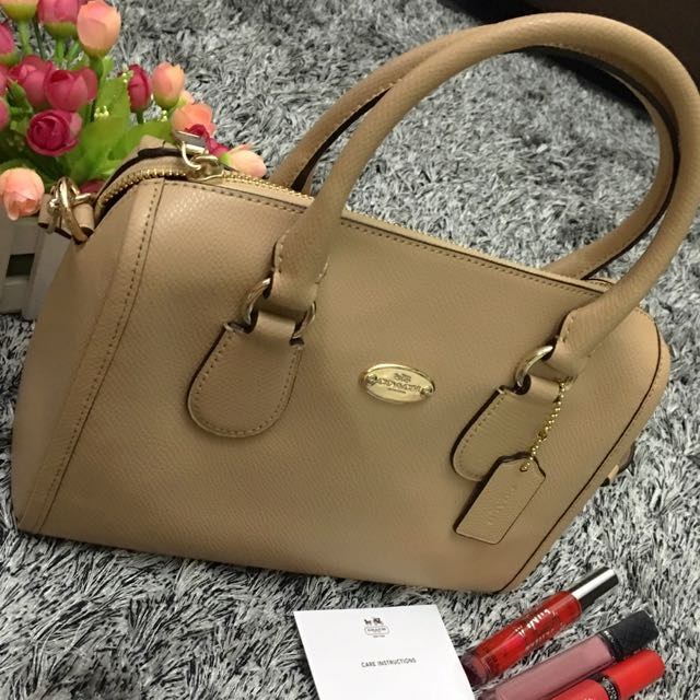 Authentic Coach mini bennett satchel