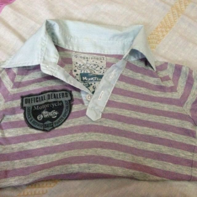 Authentic Gingersnaps polo shirt