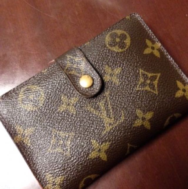 Authentic Louis vuitton french wallet purse