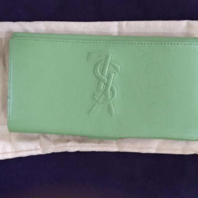Authentic YSL Long Wallet