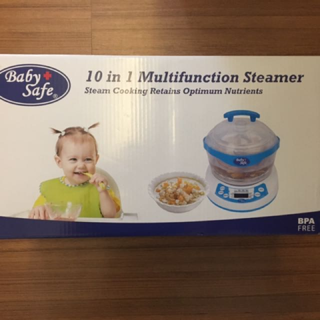 Baby safe 10 in 1 steamer