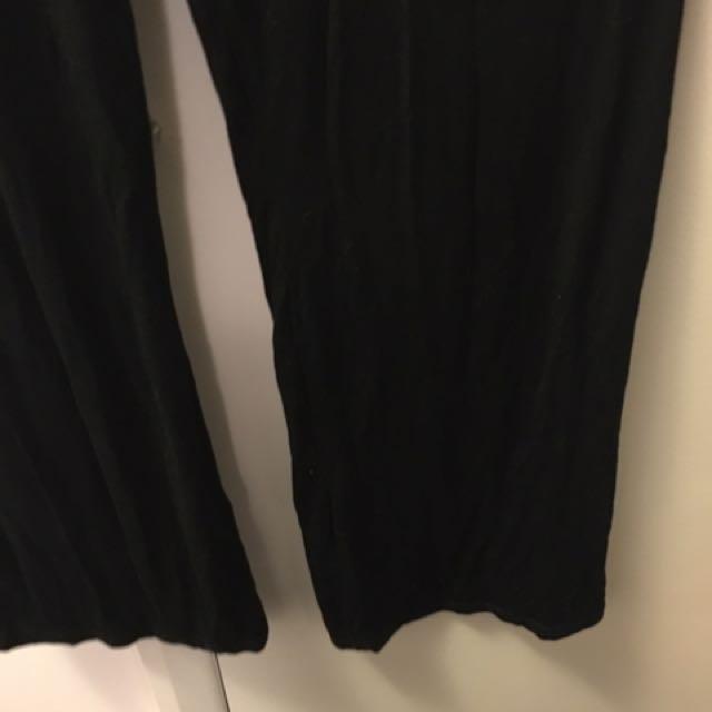Baggy flare pants