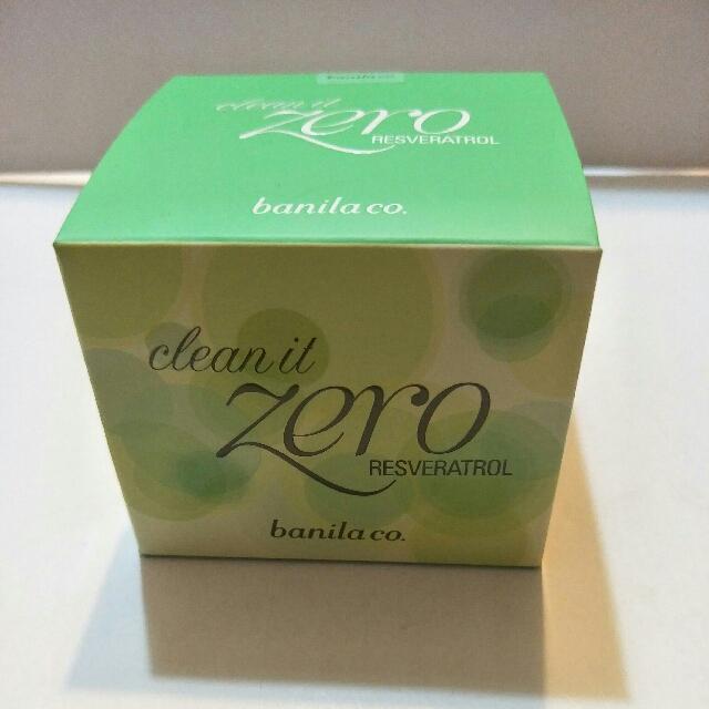 banila CO綠色抗氧化卸妝膏