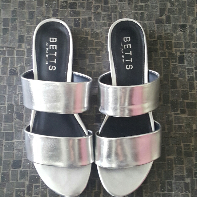 Betts Silver Sandals