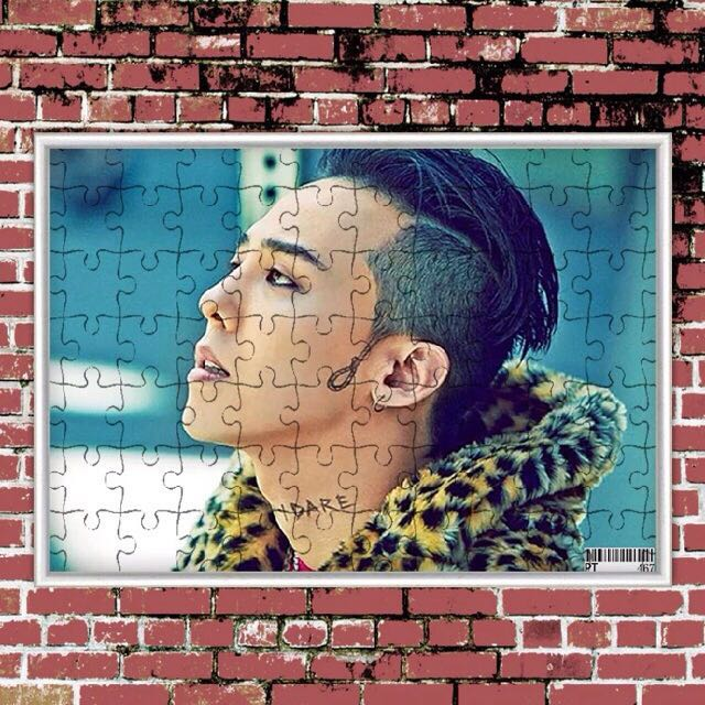 Clearance‼️Big Bang G-dragon Puzzle