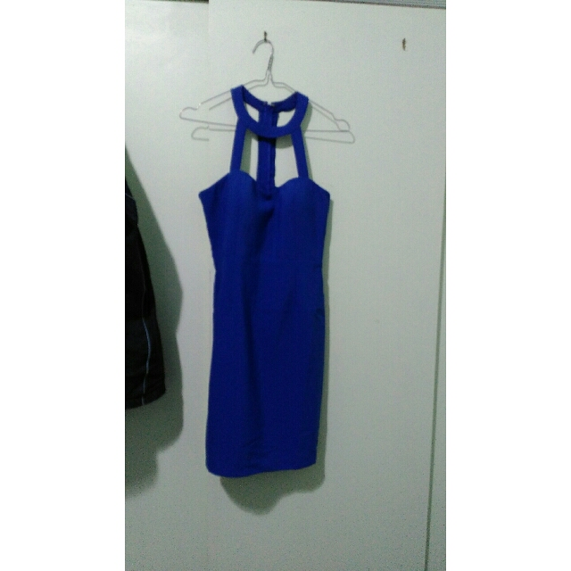 Blue Dotti Dress