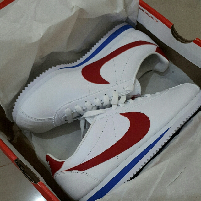 BNWB Nike Cortez Leather Size 42 Men (better fit to 41)