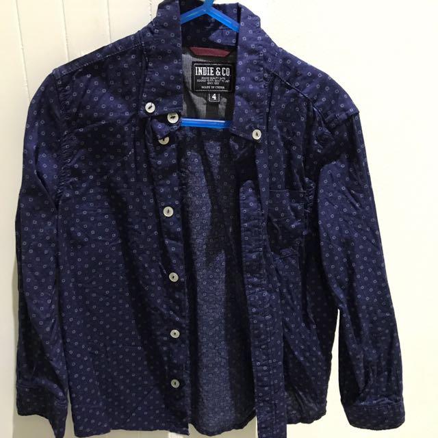Boys Industrie Kids Dress Shirt
