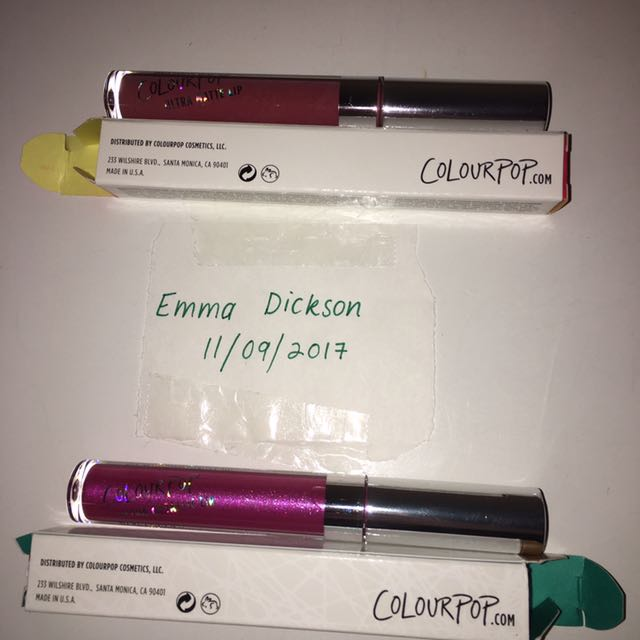 Brand New Colourpop Liquid Lipsticks