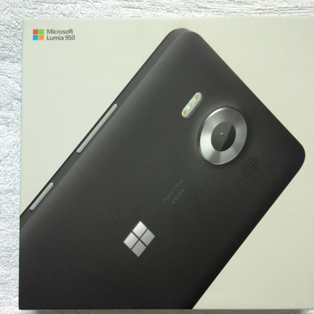 Brandnew Microsoft Lumia 950 DS