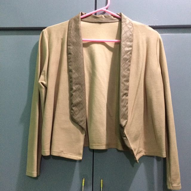 Brown Blazer
