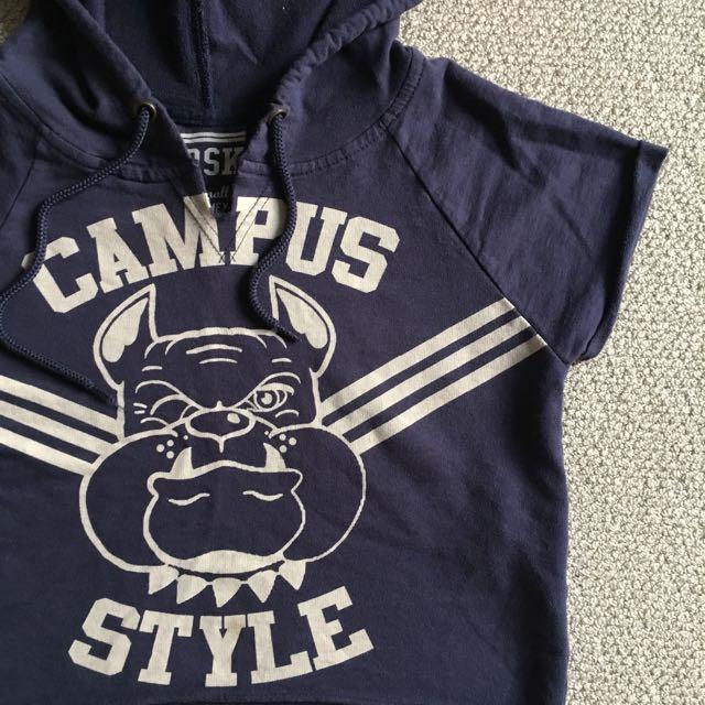 Campus Style Crop Top