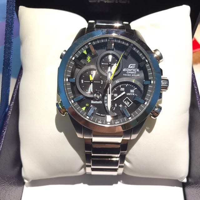 Casio Edifice Eqb 500d 1adr Men S Fashion Watches On Carousell