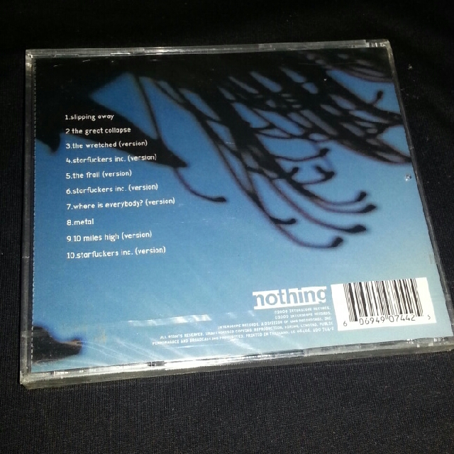 CD Nine Inch Nails. Things falling apart. NIN Trent Reznor, Music ...
