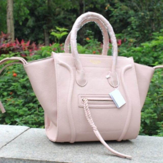 Celine Phantom Bag Beige Pink