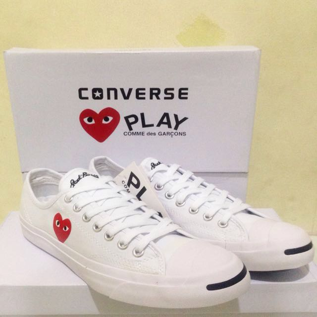 876181447015 Converse Jack Purcell x CDG PLAY