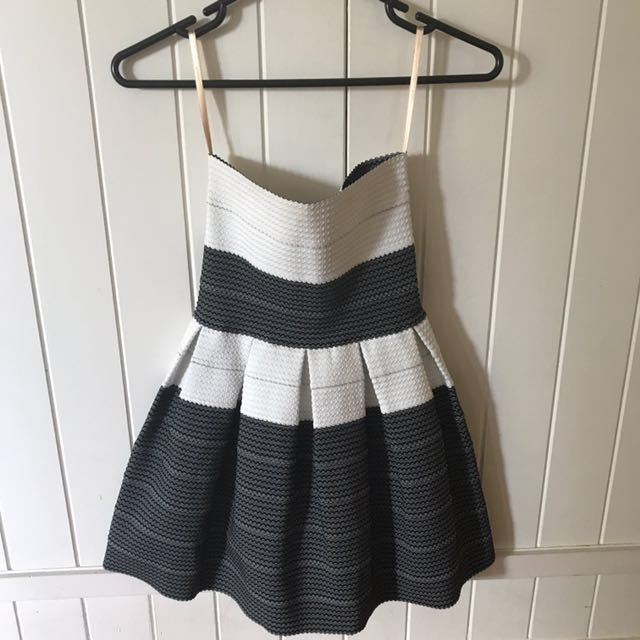 Cooper St strapless dress