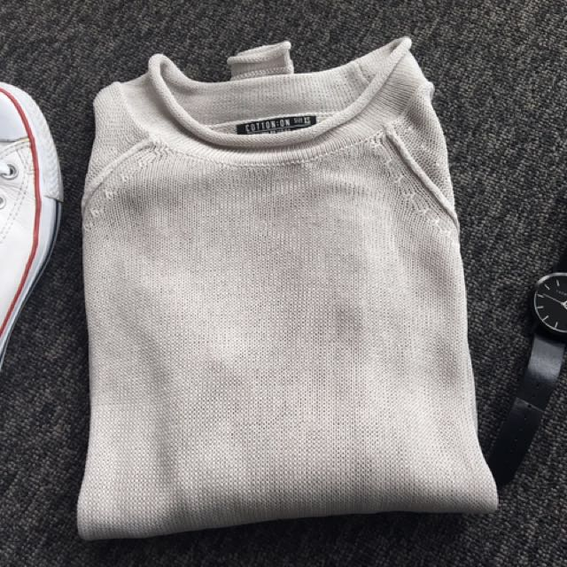 Cotton On grey knit