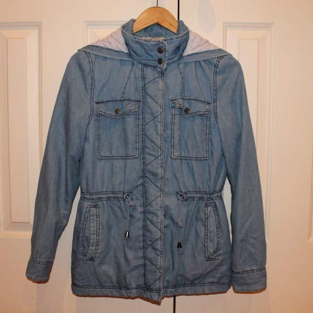 Denim Look Jacket Size 8