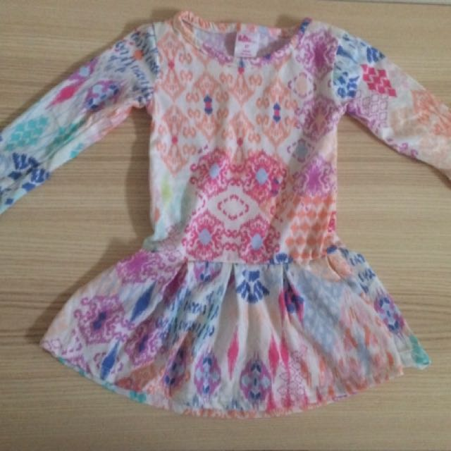 Dress Tunik Bobo Size 2th