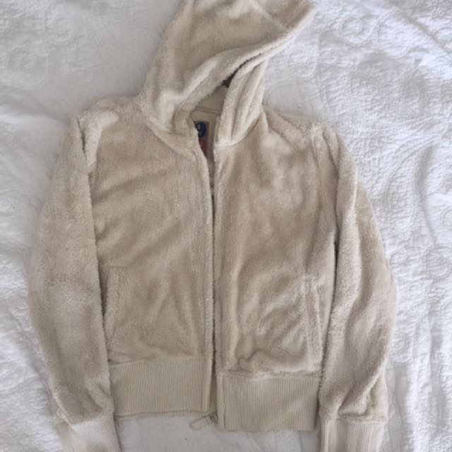 🌻fluffy warm jacket