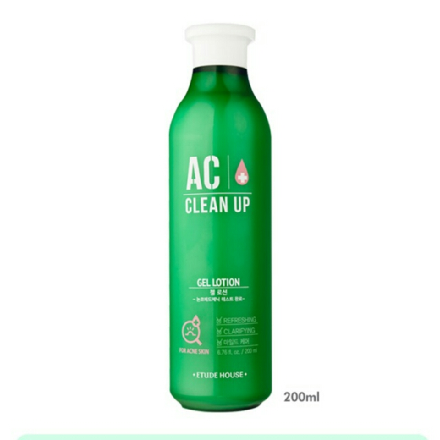 Free Ongkir Gel Lotion AC Clean Up 200ml