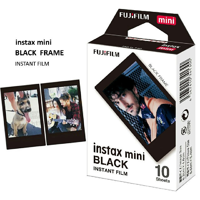 Fujifilm Refill Instax Black Frame Polaroid (10 lembar)