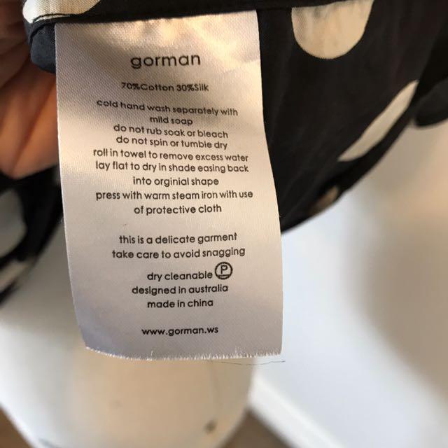 Gorman Silk And Cotton Top