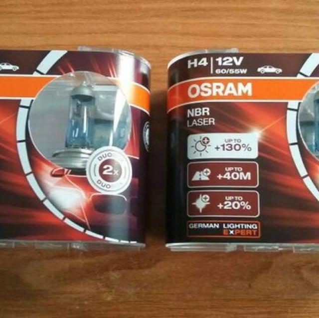 H4 NBR Laser (NBL) 12V 60/55W