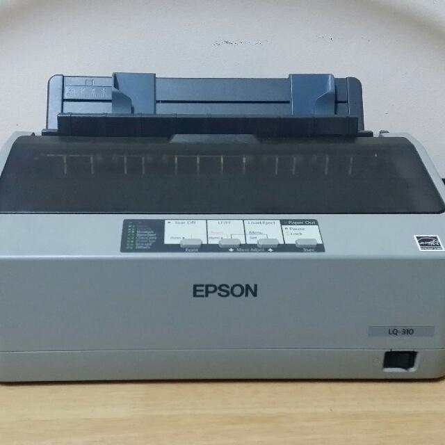 epson lx 310 dot matrix printer drivers for windows 7