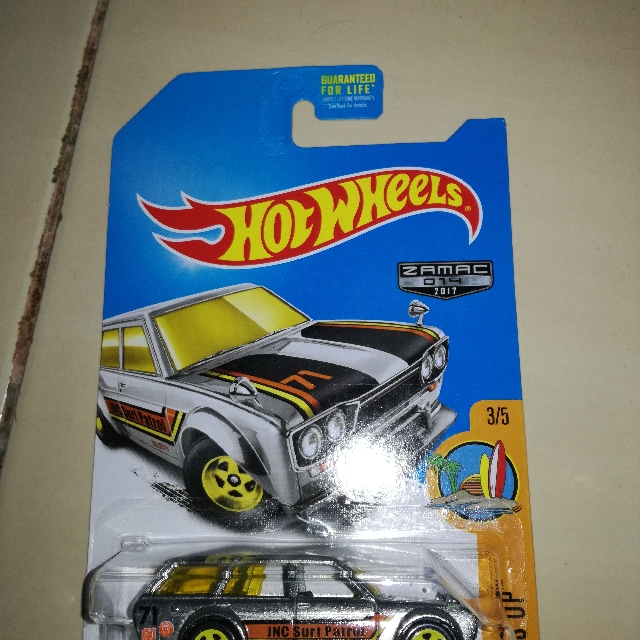Hot Wheels Datsun 510 Wagon Zamac The