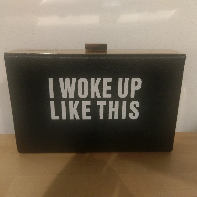 I woke up like this - Hard Case clutch