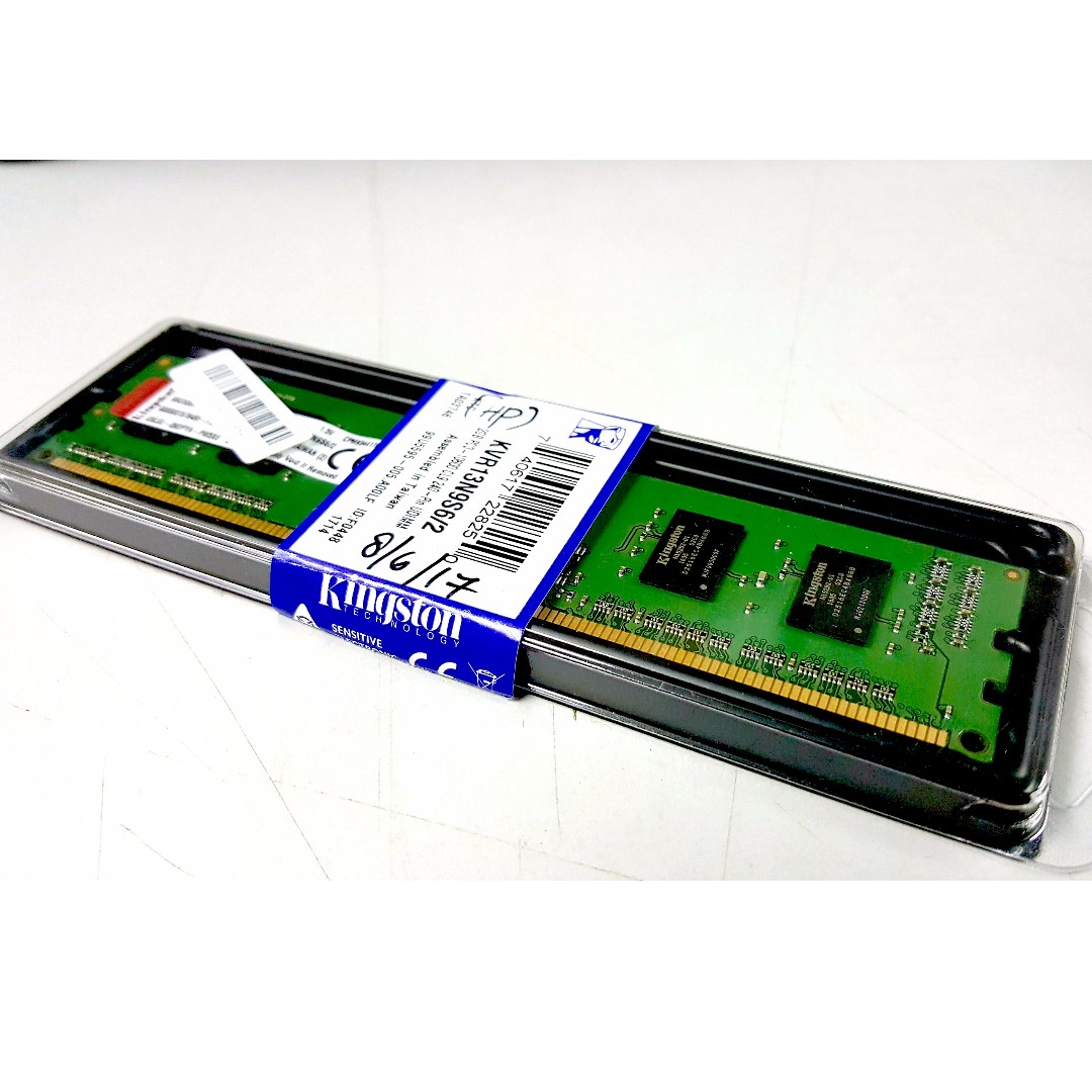 Kingston Ddr2 Ram 2gb 800mhz Pc6400 Desktop Electronics Memori Pc 6400 Computer Parts Accessories On Carousell