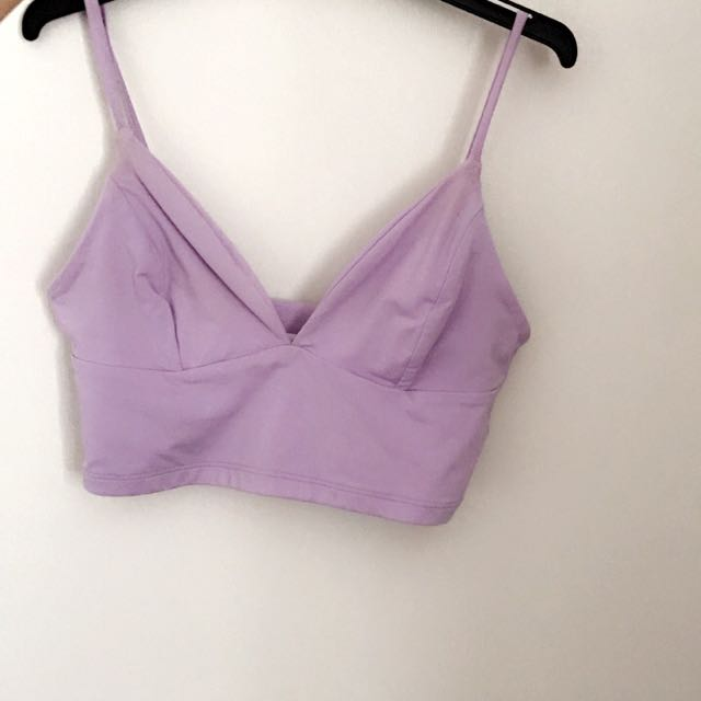 96dc985ea8823 Kookai purple bralette top