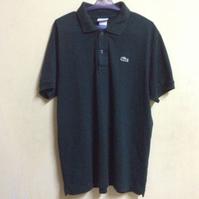 LACOSTE DARK GREEN POLO SHIRT