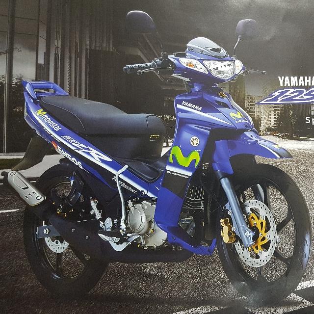 Sticker For Coverset Yamaha Y125Z - NOT Spark / Jupiter / Sniper / Aerox /  Honda Wave