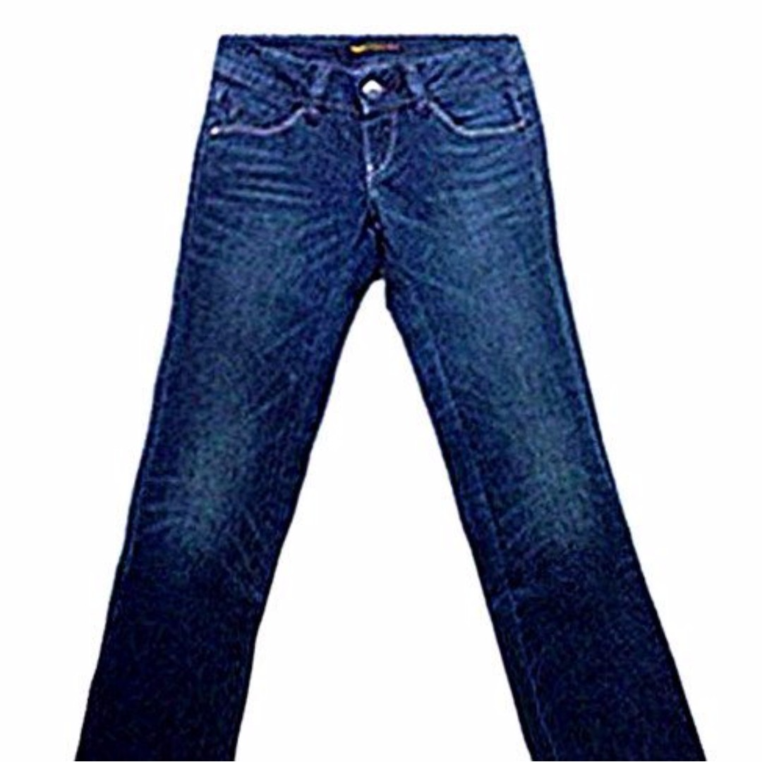 專櫃正品Levis 深藍色顯瘦刷紋牛仔褲  ※a-a101ss※