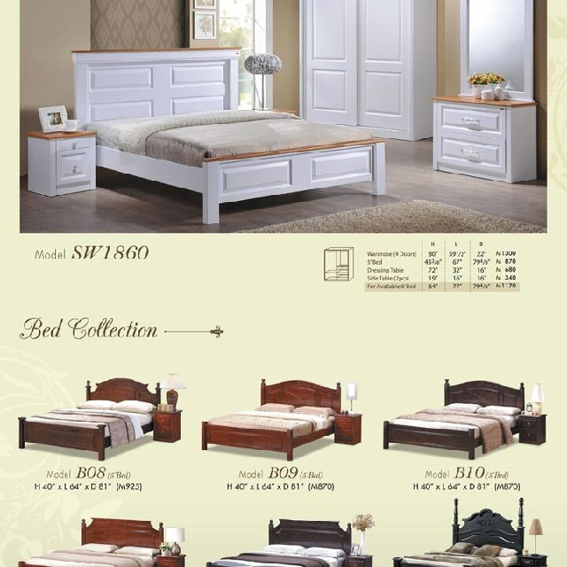 limited promotion bed set, Home & Furniture, Furniture, Mattresses & Bed Frames on Carousell