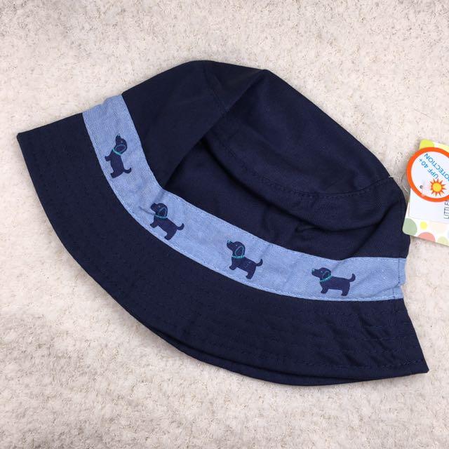 Little me 可愛小狗裝飾漁夫帽