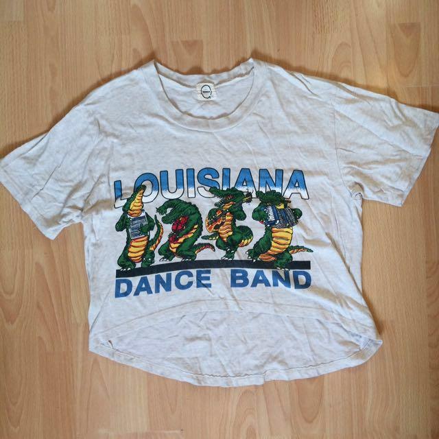 Louisiana Loose Cropped Shirt