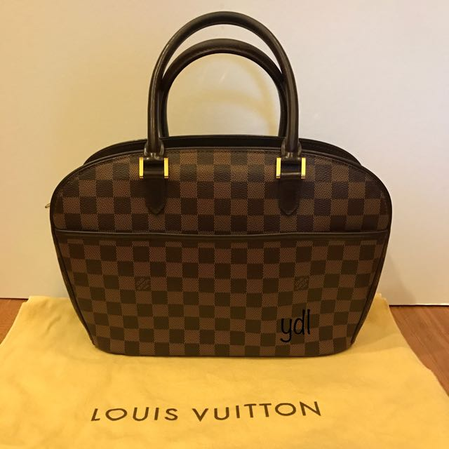 LV Damier Sarria Top Handle