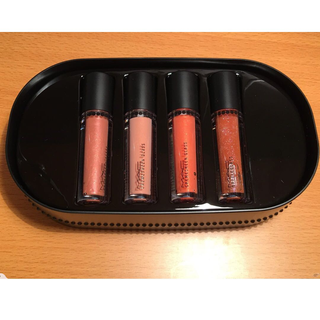 Mac Objects of Affection Lip Glosses (pack of 4)