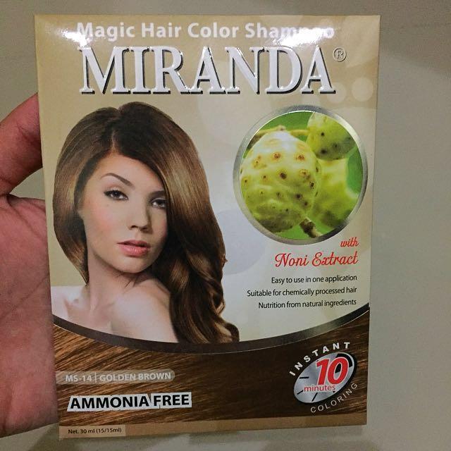 Magic Hair Color Shampoo MIRANDA