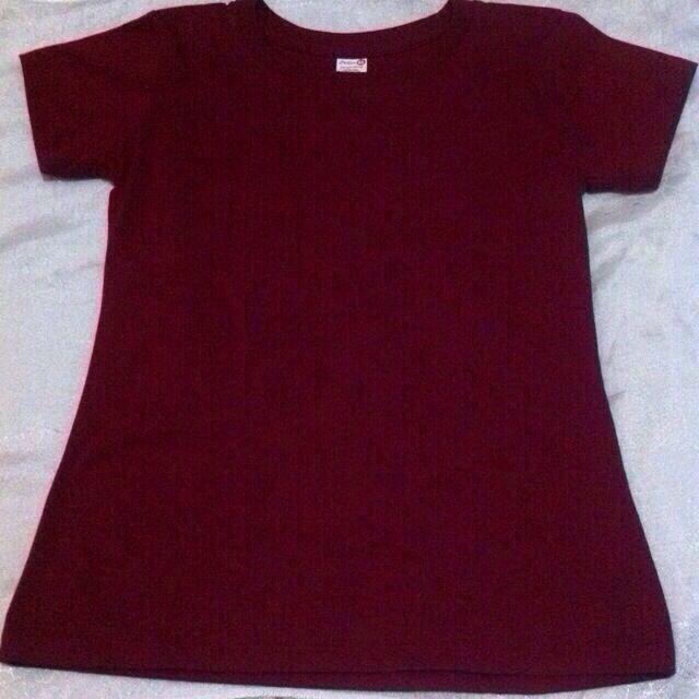 Maroon Tshirt 💕