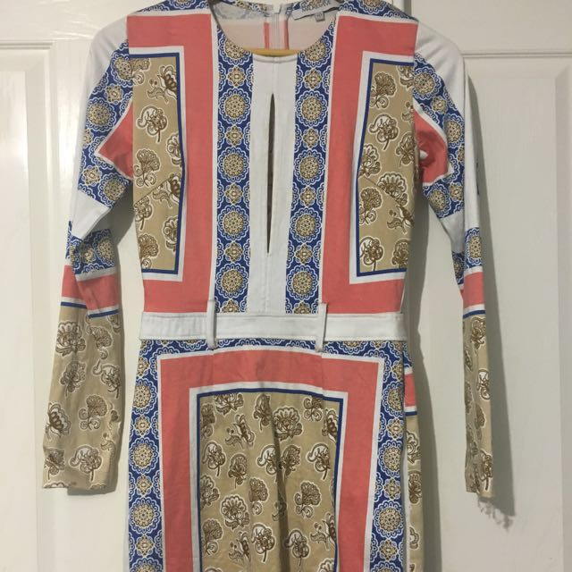 Maurie and Eve Long Sleeve Dress - Size 10