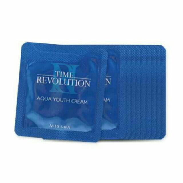 MISSHA TIME REVOLUTION Aqua Youth Cream 1ml