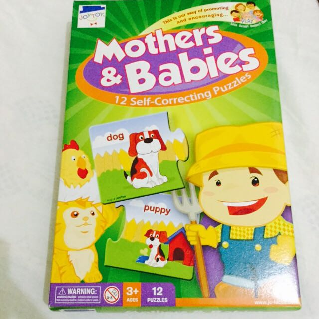 Mother's and Babies Puzzles