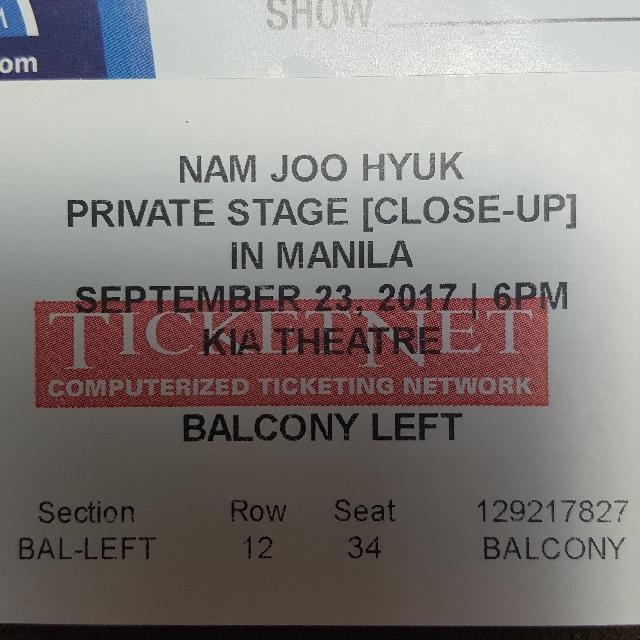 Nam Joo Hyuk Private Stage (Close-Up) in Manila