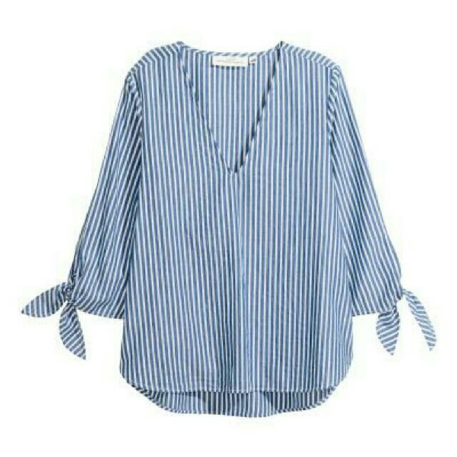 (NEW) H&M STRIPED TOP