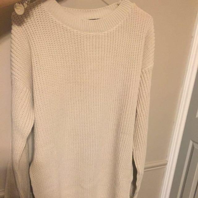 NEW Oversized Camel Knit